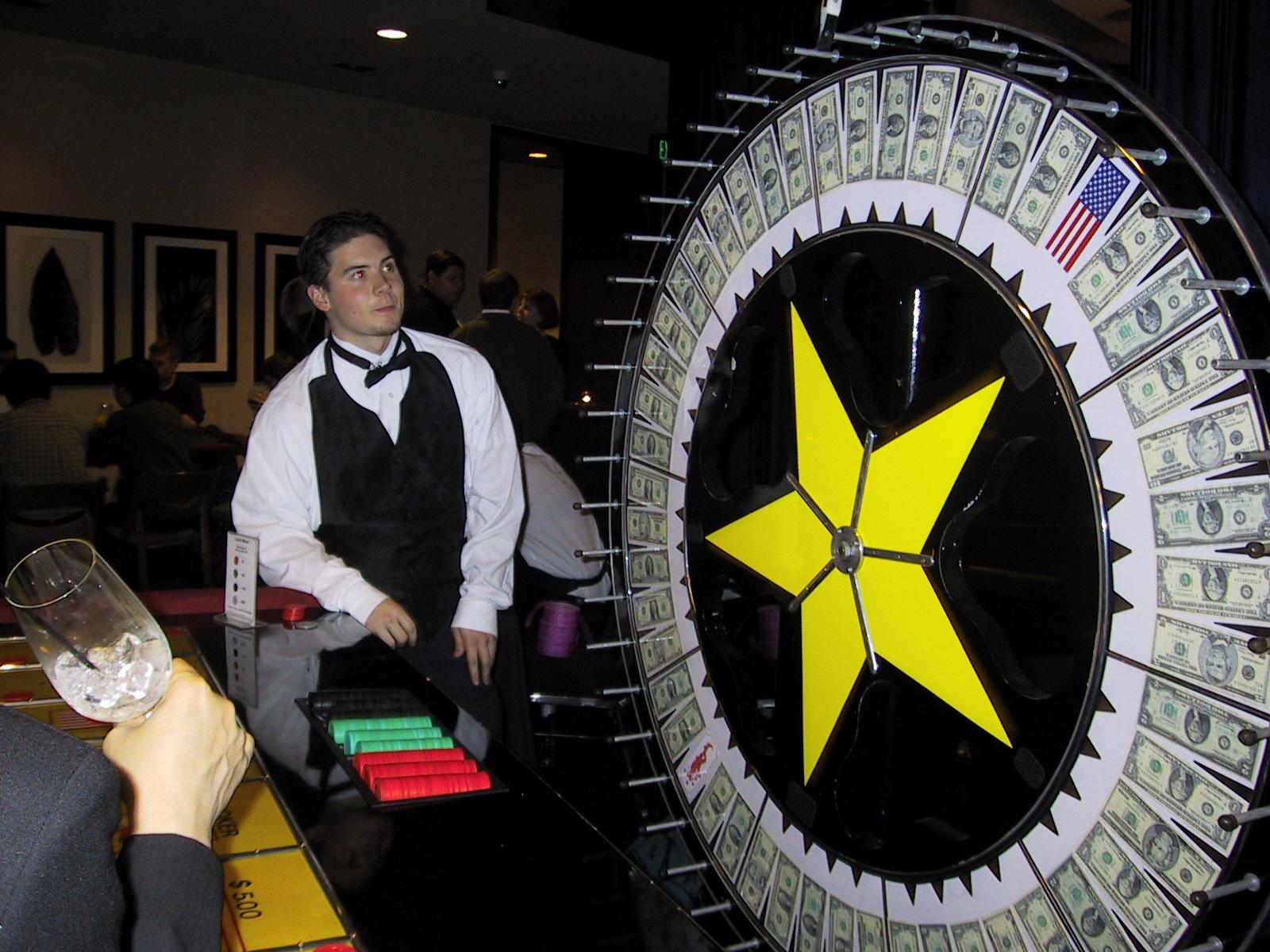 Casino Money Wheel
