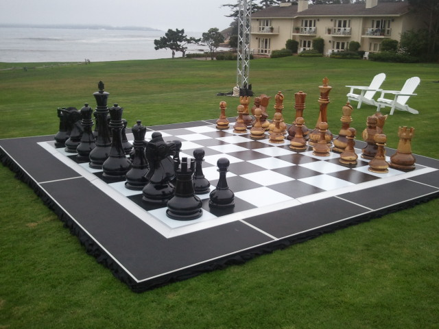 Giant Chess (Handcarved)