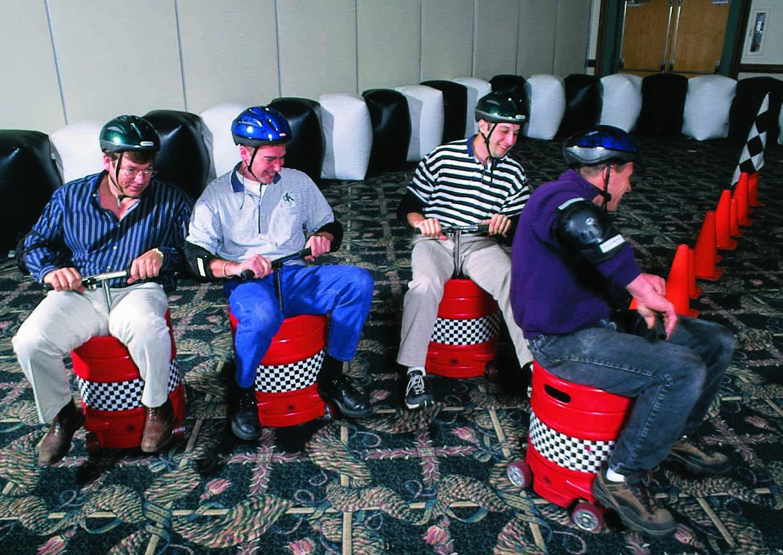 Keg Racers