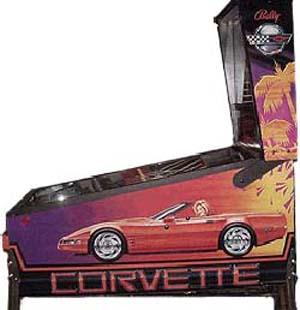 Pinball: Corvette