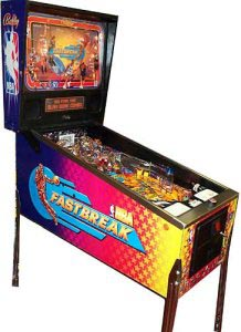 Pinball: NBA Fastbreak