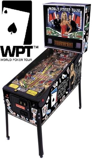 Pinball: World Series of Poker