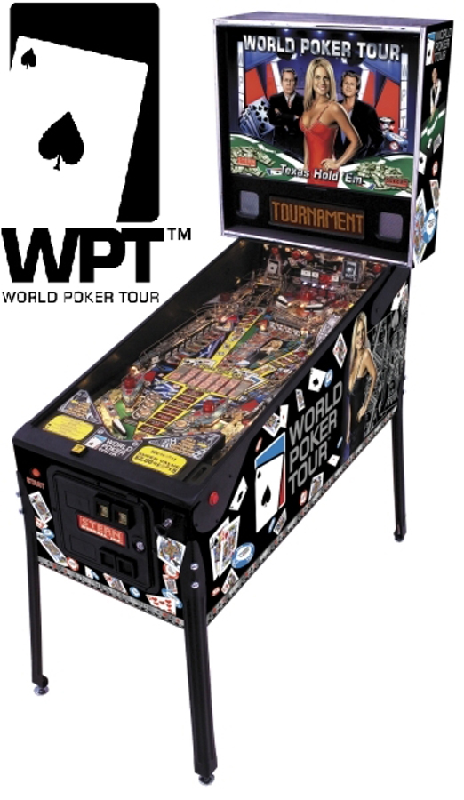 Pinball: World Series of Poker