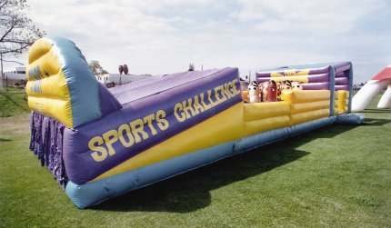 Sports Challenge Obstacle Course