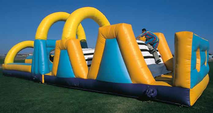 Sticky Olympics Obstacle Challenge