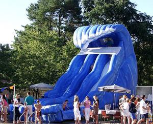 Super Splash Water Slide