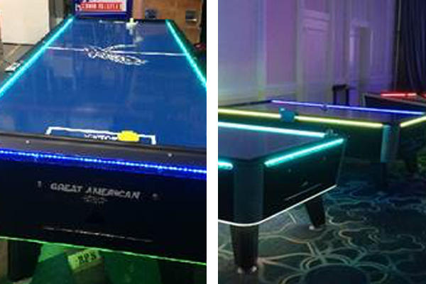 Air Hockey Table - LED