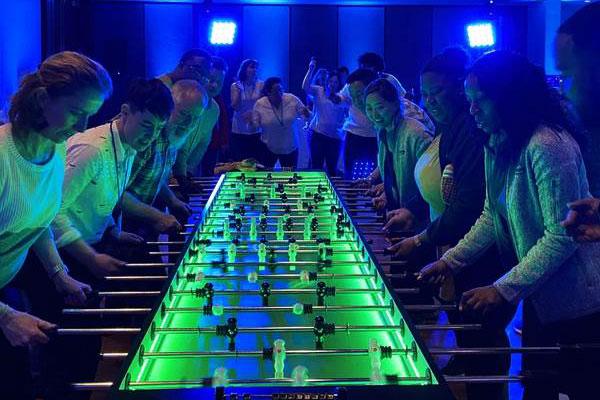 Foosball Table - 10 Man LED