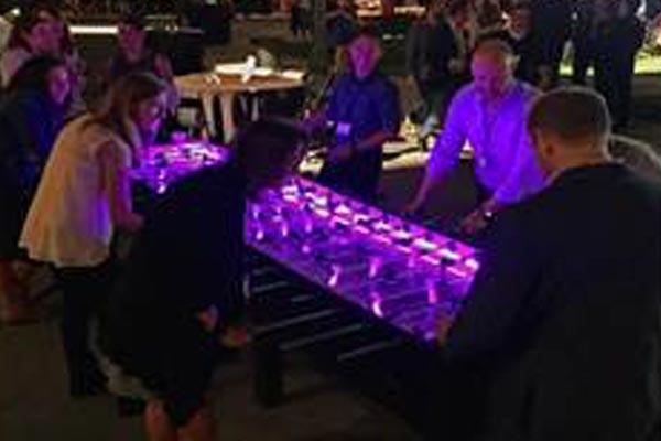 Foosball Table - 10-Man LED
