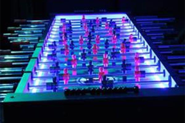 Foosball Table - 8 Man - LED