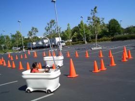 Bathtub Racers