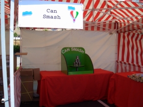 Carnival Game - Can Smash