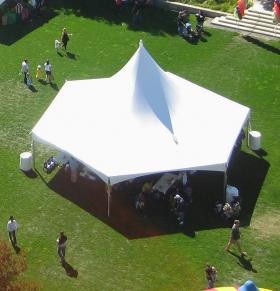 Festival Tent - Hexagon