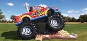 Monster Truck Bounce/Slide combo