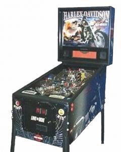 Pinball: Harley Davidson