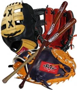 Softball Gear (Gloves, bats, balls, bases)