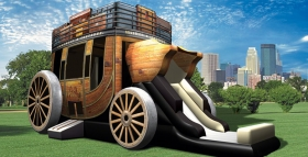 Stagecoach Inflatable