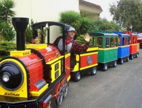 Trackless Mini Train