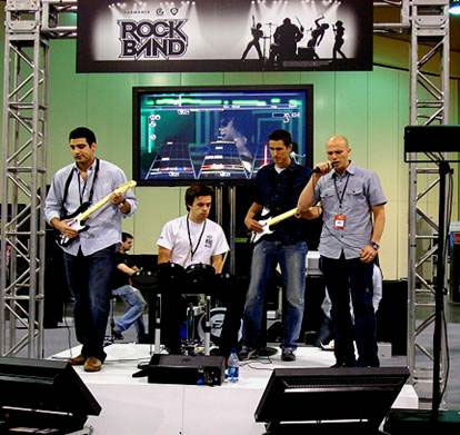 Rock Band Activity