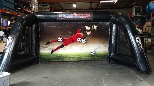 Sticky Soccer - Goal